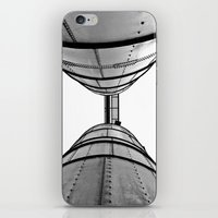 Industrial view up iPhone & iPod Skin