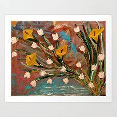 Lilly of the Valley Art Print