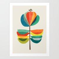 Whimsical Bloom Art Print