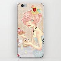 Let Them Eat Cake! iPhone & iPod Skin