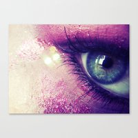 Coral Love Canvas Print