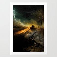Desolation Road Art Print