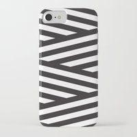stripes iPhone & iPod Cases featuring Stripes by Dizzy Moments