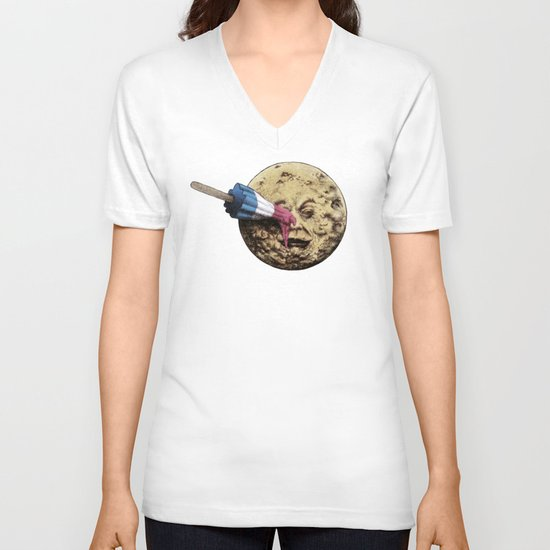 Summer Voyage V-neck T-shirt
