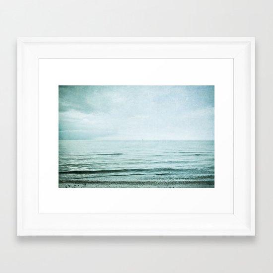 distance I Framed Art Print