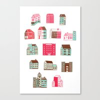 Places to rent Canvas Print