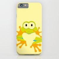Minimal Tree Frog iPhone 6 Slim Case