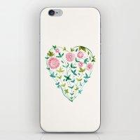 Garden Heart iPhone & iPod Skin