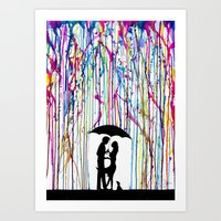 Two Step Art Print