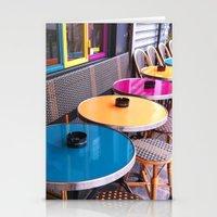 Paris Café Stationery Cards