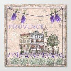 Provence - my love Canvas Print