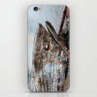 Fish Boat iPhone & iPod Skin