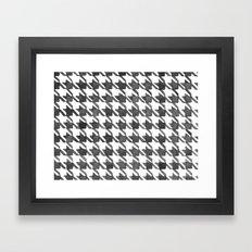 Houndstooth II Framed Art Print