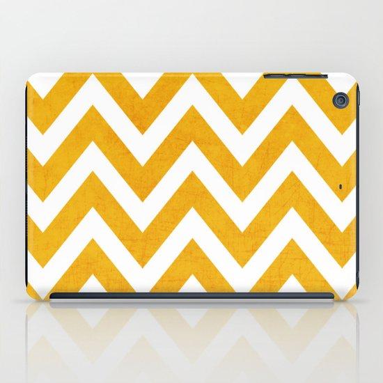 yellow chevron iPad Case