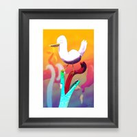 Carefree Framed Art Print