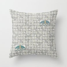 Butterfly's Journey II Throw Pillow