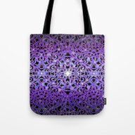 Floral Abstract Backgrou… Tote Bag