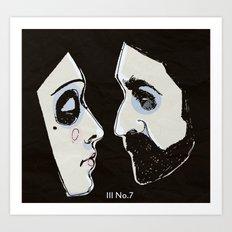 Two People Art Print