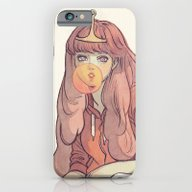iPhone & iPod Case featuring Bubblegum by Little Thunder
