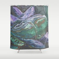 Pintado Flower Shower Curtain