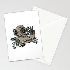 Peace Gorilla Stationery Cards
