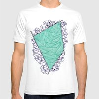 Shape 1 Mens Fitted Tee White SMALL