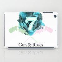 Gun & Roses iPad Case
