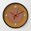 Hard Candy Swirl Wall Clock