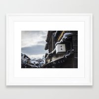 Kyoto Winter 2015 IV (Hi… Framed Art Print