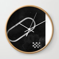 Race Symbols Wall Clock