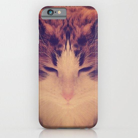 Symmetrical Feline iPhone & iPod Case