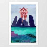Avatar: Spirits Book V2 Art Print