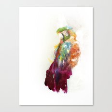 The parrot Canvas Print