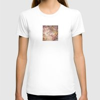 wander Womens Fitted Tee White SMALL