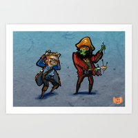 Use Verb on Noun #32: Monkey Island 2: LeChuck's Revenge Art Print