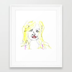 The Girl  Framed Art Print