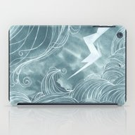 The Wave In A Bubble iPad Case