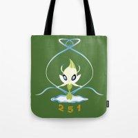 #251 Celebi ~ NATURE Tote Bag