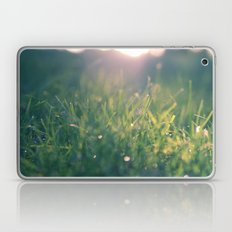 green gras bokeh 1b Laptop & iPad Skin