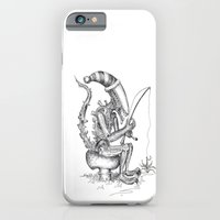 iPhone & iPod Case featuring Alien gnome by ronnie mcneil