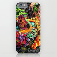 iPhone & iPod Case featuring Just another day in the jungle by Donuts