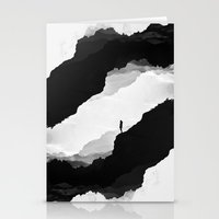 clouds Stationery Cards featuring White Isolation by Stoian Hitrov - Sto