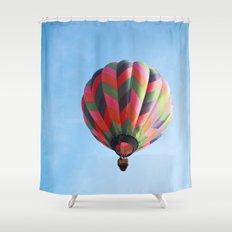 Lighter Than Air - Balloon  Shower Curtain