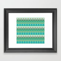 Fairy's Stripe Framed Art Print