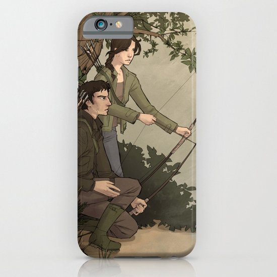 Katniss and Gale iPhone & iPod Case