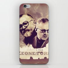 Sergio Leone/John Ford iPhone & iPod Skin