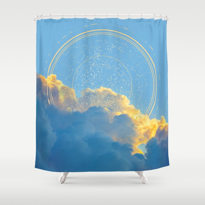 Create Your Own Constellation Shower Curtain By Soaring Anchor Designs Society6