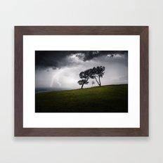 Storm Sky Framed Art Print