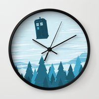 I Believe - Blue Wall Clock
