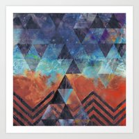 Astral-Projectionist Art Print